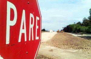 La obra de la Autovía 18 de EERR pasó de 600 empleados a 10