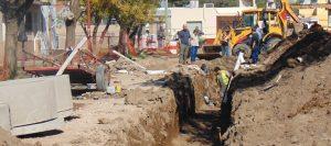 Obras decloacas y agua potable en el Butaló: Paradas $58 Millones
