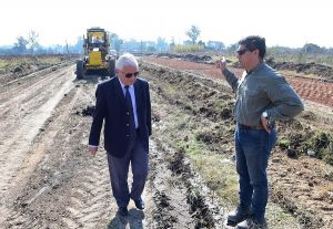 JCB inicio la extensión del bulevar Díaz Vélez de Concepción del Uruguay $2 Millones