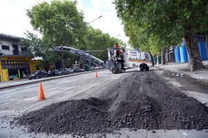 Rosario barrio Matheu 5 ofertas para el pavimento $99 Millones