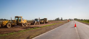 Siguen obras en ruta 7 La Pampa