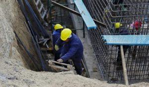 ECOSUR BAHIA llegó a un 40% de avance de la planta cloacal para Las Grutas