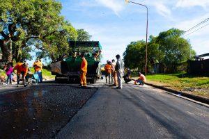 Paulina Castro de Demartínavanza el ensanche y reasfaltado de avenida Jorge Newbery en Paraná $42 Millones