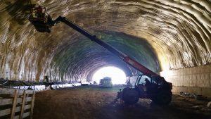 Cinco oferentes para rehabilitar el túnel N°1 en Cacheuta $64 Millones