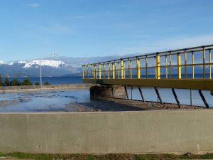 Firma el contrato para el nuevo Colector Costanero de la ciudad de San Carlos de Bariloche $366 Millones