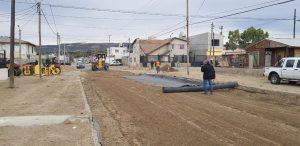 Comodoro R. obras de gas, agua y pavimento por más de $ 75 millones