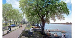 El Paseo del Puerto estará listo a fines de septiembre