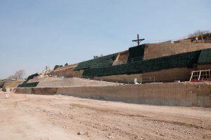 """A pesar de la """"crisis"""" el Paseo de la Libertad no para su construcción"""