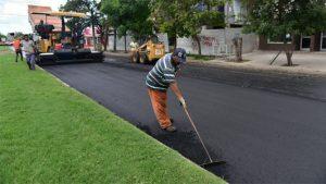 ECOP Construcciones SRL comenzó pavimentación en Catriló $ 33 Millones