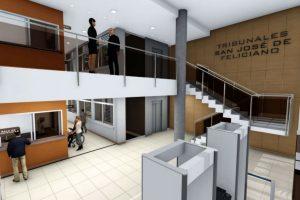 Cuatro ofertas para la construcción de los tribunales en Feliciano $ 18 Millones
