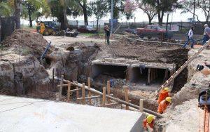 Diez oferentes para mejorar canales y construir defensas EN Colonia Margarita $ 26 millones