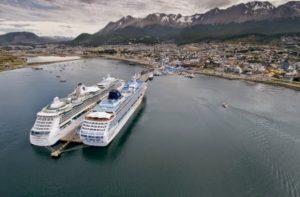 Proyectan construir muelle de cruceros en Ushuaia