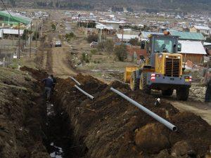 ALUSAfirmó el contrato para la obra de gas en Nahuel Hue, Malvinas y El Maitén