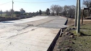 Avanzan con los accesos al puente Villa María y Villa Nueva