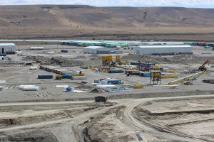 Es lento pero constante el avance en la construcción de las represas Cóndor Cliff y La Barrancosa