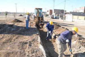 Municipalidad de Viedma suma más obras para el barrio Álvarez Guerrero $ 4 Millones