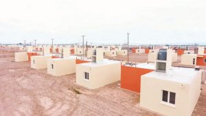 3 Ofertas para la construcción de 160 viviendas para Zonda $261 Millones