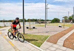 Inauguran el Paseo del Puerto en la ciudad de Santa Fe