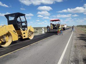 Repararon el acceso al Parque Industrial de Puerto Madryn