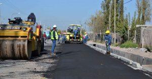 Arrancaron en Pocito las obras de un tramo de la Autopista a Mendoza