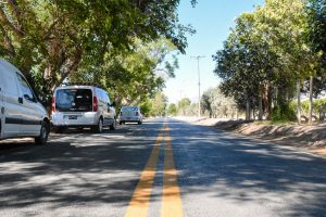 Más asfalto para Pocito