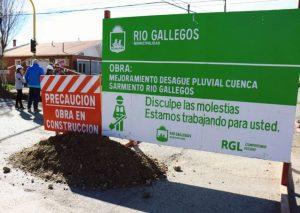 Millones y una obra polémica como herencia en Río Gallegos