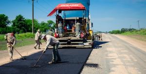 Una nueva empresa continuará con la obra de pavimentación de la Ruta 51