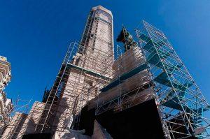 Tras casi tres años de obra, la refacción del Monumento a la bandera sigue sin terminarse