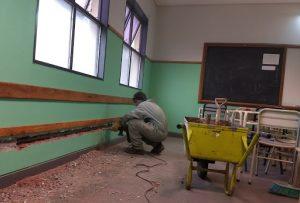 Apertura de licitación para obra de ampliación de la Escuela N° 767 $21 Millones