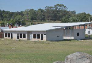 La construcción del Jardín de Infantes 927 de Tandil sigue a mitad de camino por la falta de fondos