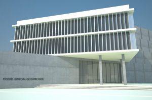 Se adjudicó a Cocco Construcciones la primera etapa de la obra de los Tribunales de Federación