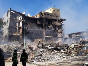 Demolición de Torres y Liva en Mar del Plata