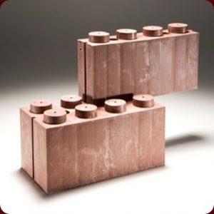 Los ladrillos tipo LEGO, el futuro de la construcción sustentable