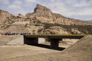 Canclini SRL avanza con la construcción de una pasarela peatonal metálica en Belén
