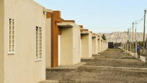 Caucete: reactivan las cloacas y harán un barrio para 471 familias