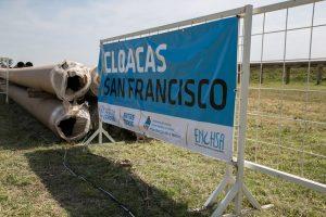 San Francisco Córdoba anunció cloacas para La Milka, San Cayetano y Parque
