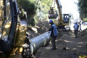 Ministro de Nación prometió apoyo para la obra del colector cloacal costanero de Bariloche