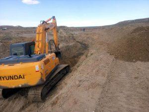 Rigel Inicia los trabajos para el nuevo puente sobre arroyo La Mata
