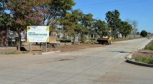 Sunchales confirmó que retoma obras de pavimentación