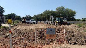 Piden paralizar la obra del nuevo puente de Villa Maria