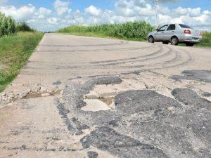 La repavimentación de la ruta 158 desde Prosperidad hasta Las Varillas quedó en la nada
