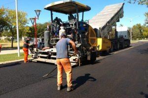 Vial Agro Continúa las obras de pavimentación en General Pico