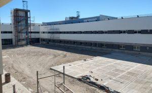 Nuevo Hospital de Alta Complejidad de Trelew 75% de avance de obra
