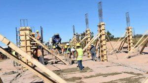 Retomaron la construcción de la Escuela Pro-A en Despeñaderos