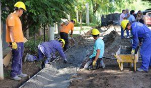 La Unión Obrera de la Construcción de la República Argentina (UOCRA) -Seccional Trelew y Madryn Construirá cordones cunetas $ 35 Millones