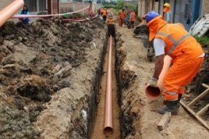 Se reactiva la obra pública con extensión de agua y cloacas para más de 2 mil vecinos en Gualeguaychu EERR