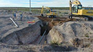 Gasoducto de la Región Sur: ultiman trabajos entre Los Menucos y Maquinchao