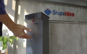 Idea SA se reconvierte fabricando higienizador de manos
