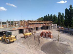 Se retomaron las obras de construcción del edificio de la Ciudad Judicial de Villa Regina