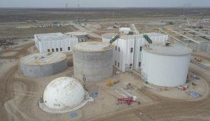 Ingeniero White Acuerdo para finalizar la obra de la depuradora cloacal Primera Cuenca